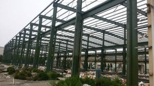 沧州钢结构厂房买卖