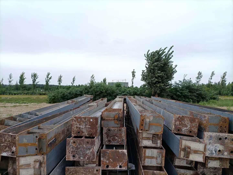 出售燕郊货场立柱,材料清单立柱 340/250/13,6.04米,12根