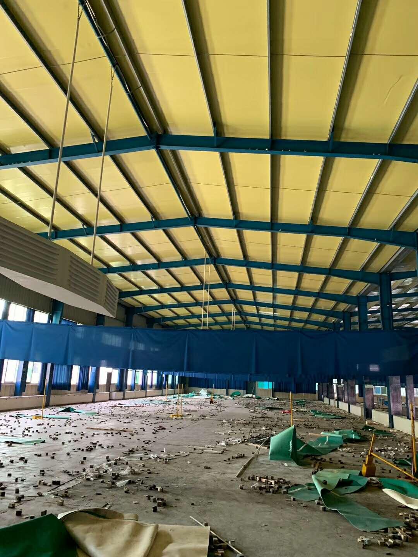 出售宽3连夸18+14+12x长60米x高7.5米柱子300x175x0.6钢结构厂房