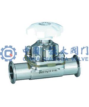 卫生级焊接隔膜阀