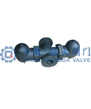 双体大排量杠杆浮球式蒸汽疏水阀