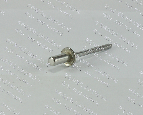 全不锈钢12615封闭型平圆头抽芯铆钉51级