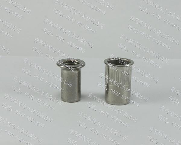 304不锈钢沉头拉铆螺母