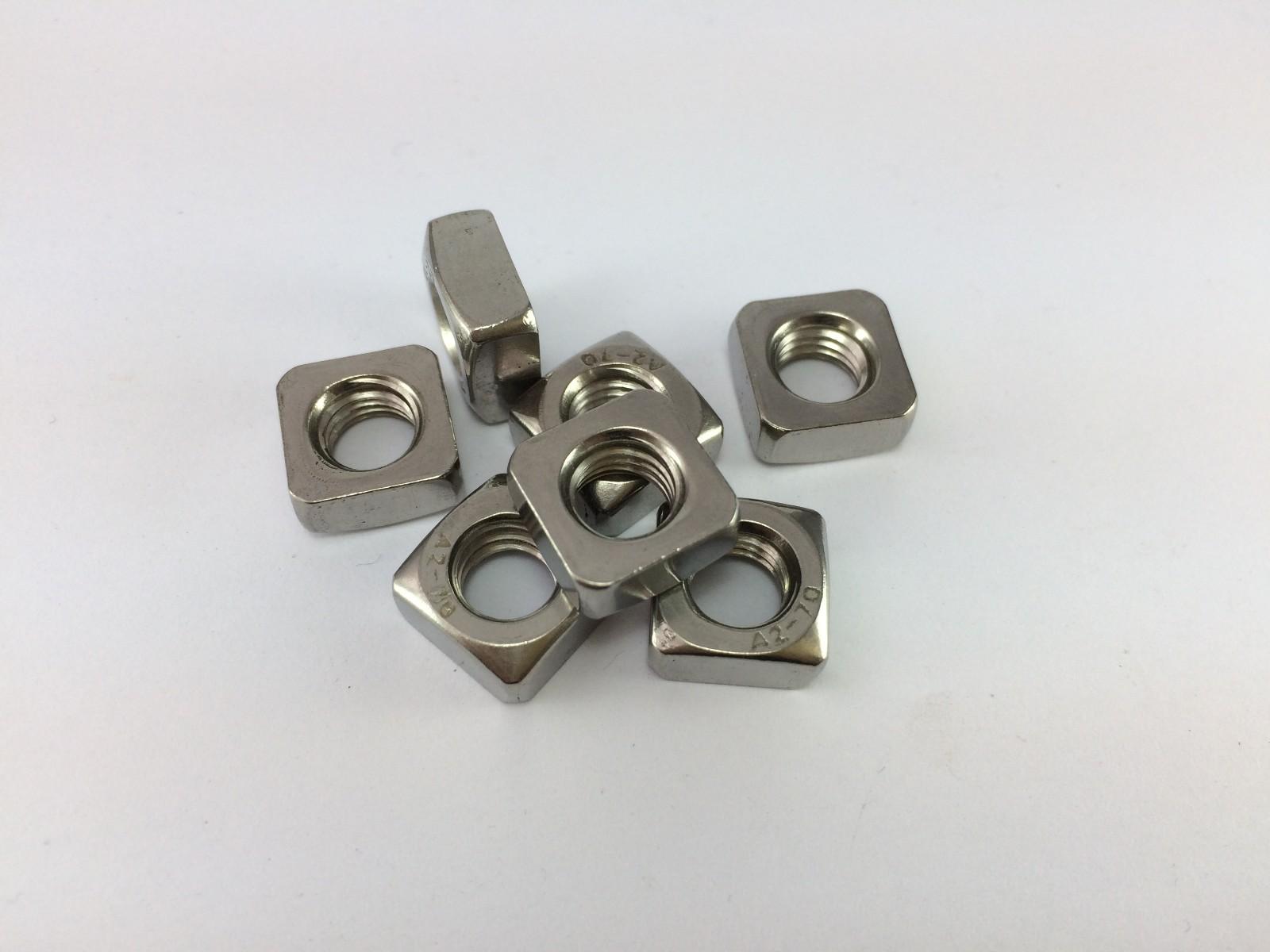 304不锈钢DIN557 GB39四方螺母