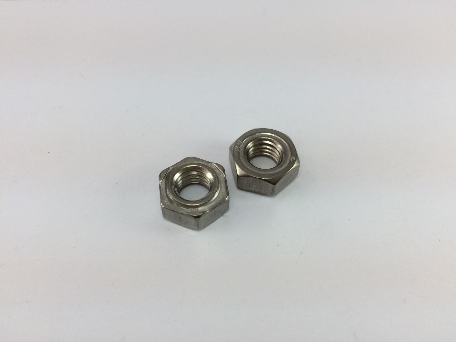 304不锈钢DIN929六角焊接螺母 GB13681六角焊接螺母