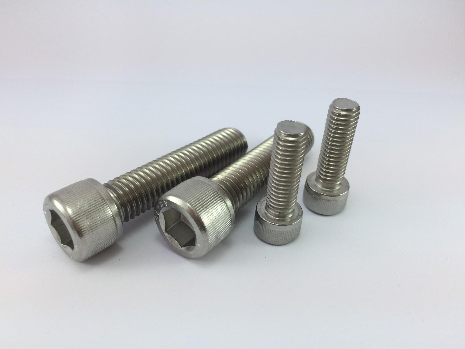 304不锈钢GB70.1圆柱头内六角螺钉 DIN912圆柱头内六角螺丝