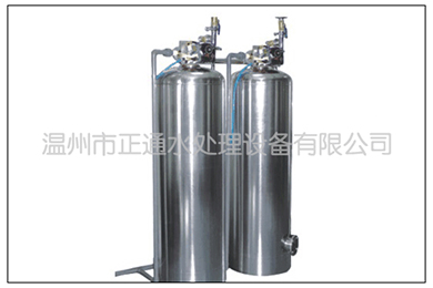 3T/H不锈钢软化与除盐设备